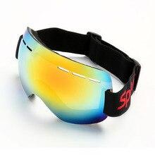 цена на UV Resistant Ski Goggles Windproof Outdoor Skiing Sports Mask Men Women Professional Snow Eyewear Resistance To Falling Glasses