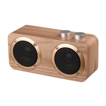 Wooden Home Bluetooth Speaker Mobile Phone Outdoor Multi-Function U-Disk Wireless Card Audio Retro