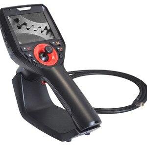 Comprimento industrial da rotação 2 m da inspeção 360 da tubulação do reparo do automóvel do endoscópio 6 mm