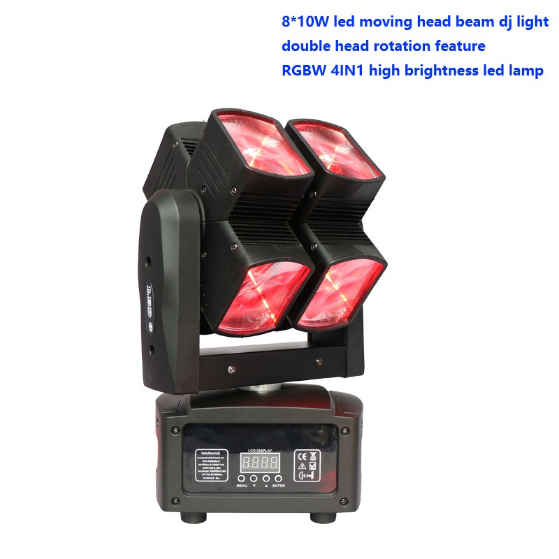 Rotary Cross Shaped LED Moving Head Disco Led Dj Mobile Stage Lighting