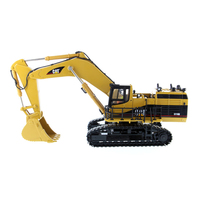 1/50 Scale Caterpillars 5110B Excavator Vehicle CAT Engineering Truck Model Diecast Masters #85098 Car Gift Toys