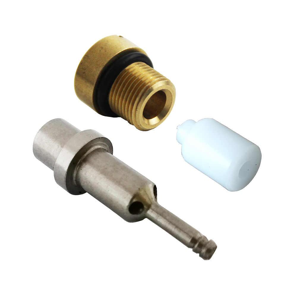 Válvula Airforce PCP para Paintball, piezas de repuesto Condor, salida de boquilla, vástago M12x1 para válvula de presión constante, Kits de reemplazo de regulador