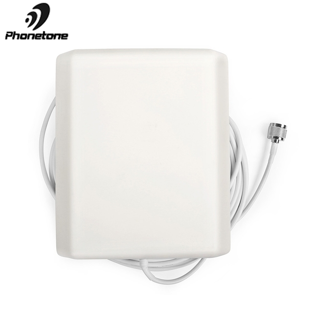800 2500MHz 9dBi 2G 3G 4G Lte Antenna Indoor Directional Panel Antenna N Male Connector and 5m cable for Repeater Signal Booster