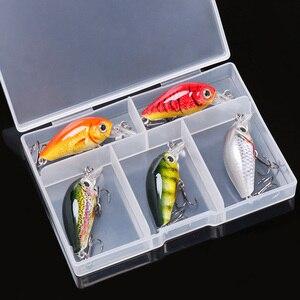 Image 5 - TREHOOK 36 мм 3,6 г 5 шт. мини приманка для рыбалки приманка топвотер искусственная жесткая Приманка Minnow Swimbait воблеры набор для ловли карпа