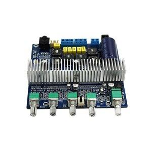 Image 2 - TPA3116D2 Bluetooth 4.2 Subwoofer płyta wzmacniacza Audio 2.1 kanał wysokiej mocy 2*50W + 100W TPA3116 amplificador DC12V 24V E1 009