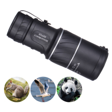 40x60 Clarity HD Vision Pocket Telescope Monocular Low Level Night Green Film Optics