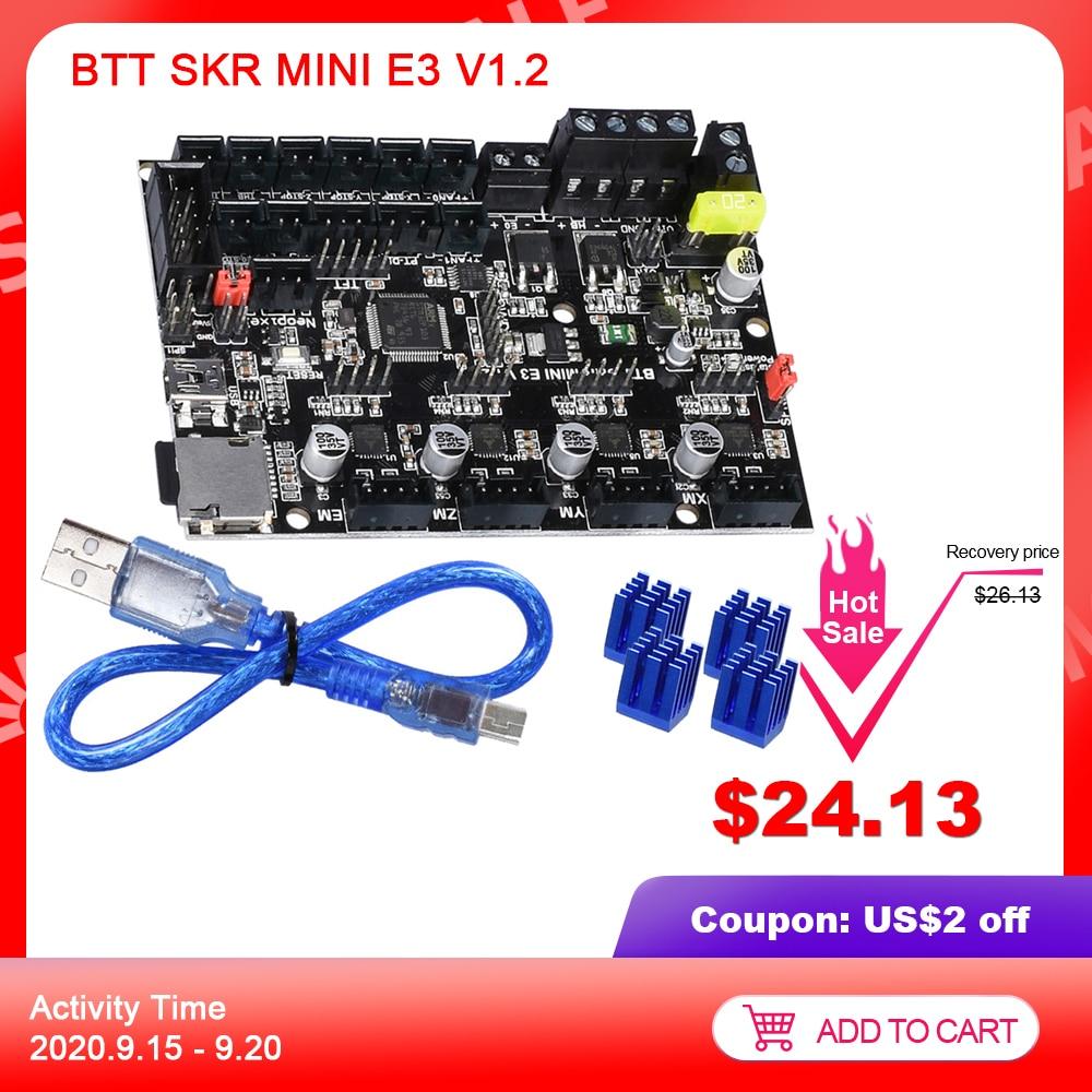 BIGTREETECH SKR MINI E3 V1 2 Motherboard TMC2209 UART Driver E3 DIP 3D Printer Parts Control Board For Ender3 32Bit SKR V1 4
