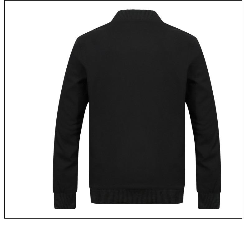 H8872b95edbe34cca87cf627fc42426daP 2019 Men Jacket Casual Cotton Washed Retro College Baseball Workwear Business Black Vintage Coat Male Spring Autumn Jacket Men