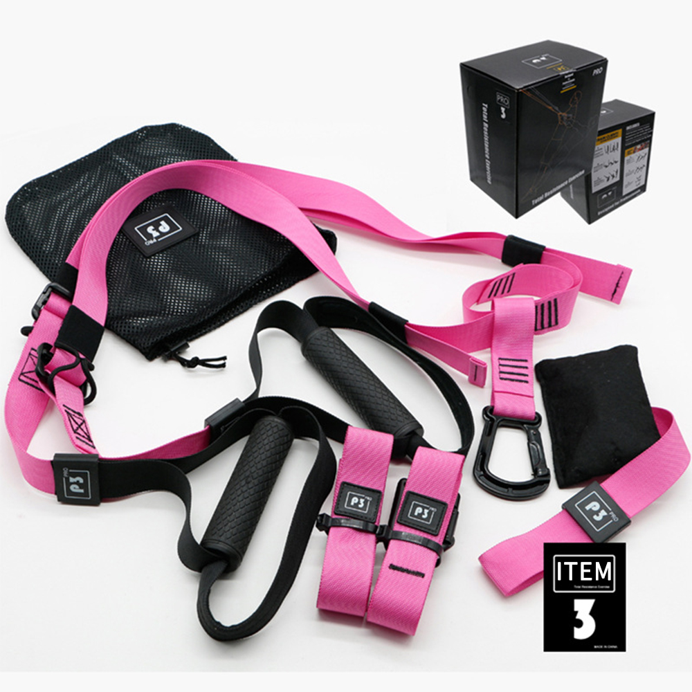 Training Fitness Hanging Belt Gym Workout Suspension Exercise Pull Rope Stretching Elastic Straps Resistance Bands