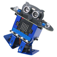 Xiao R HappyBot Microbit Smart Programmable Obstacle Avoidance APP/Stick Control RC Remote Control Dancing Robot Toys