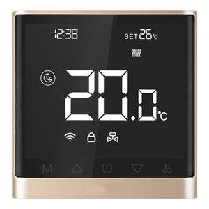 Wifi термостат Смарт-приложение контроль температуры Электрический напольный термостат с прессом Sn