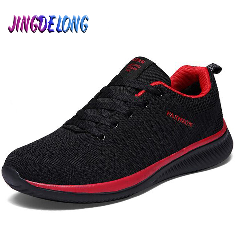 New Summer Lightweight Men's Casual Shoes Mesh Breathable Men Sneakers Comfortable Soft Men's Running Shoes Fashion Moccasins