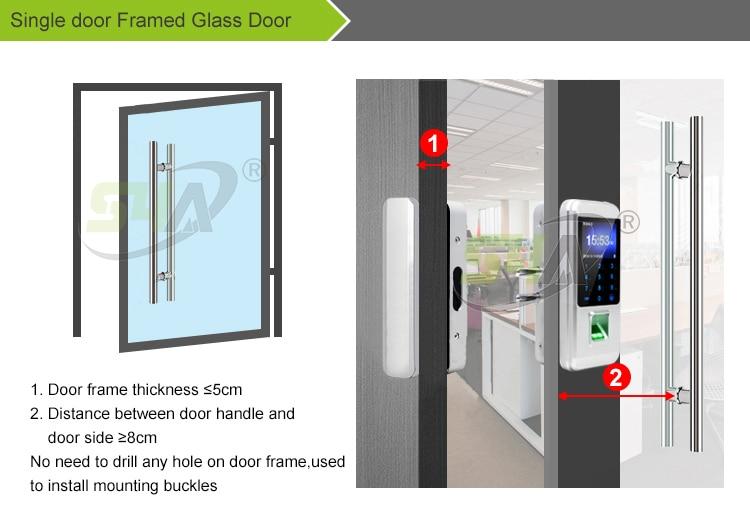 3.Single door Framed Glass Door