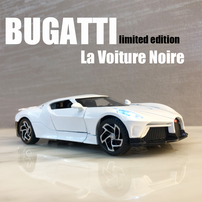 1:32 Bugatti La Voiture Noire Die Cast Alloy Car Model Global Limited Edition Edition Collectibles Children's Toys Free Shipping