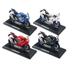 1/12 сплав литьё под давлением GSX-R1000 модель мотоцикла игрушечное транспортное средство по бездорожью Autocycle Shork-амортизатор коллекция Autobike игр...