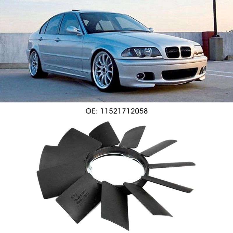 New Engine Cooling Fan Blade BMW Premium 12058