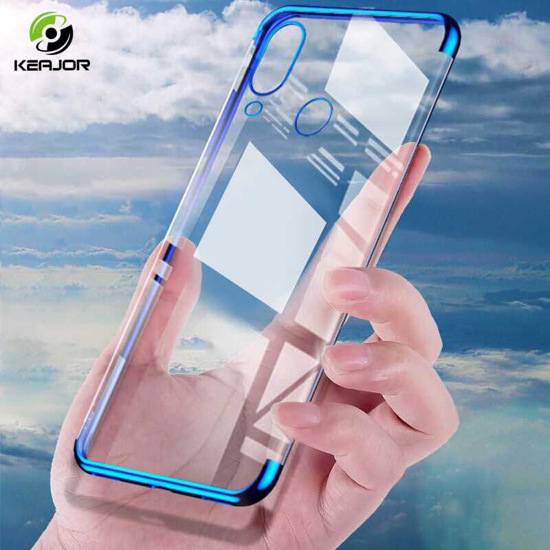 Keajor Luxury Plating Case For Huawei p20 p30 lite Case P20 P30 Pro p Smart 2019 Soft TPU Silicone Back Cover For Mate 20 Pro