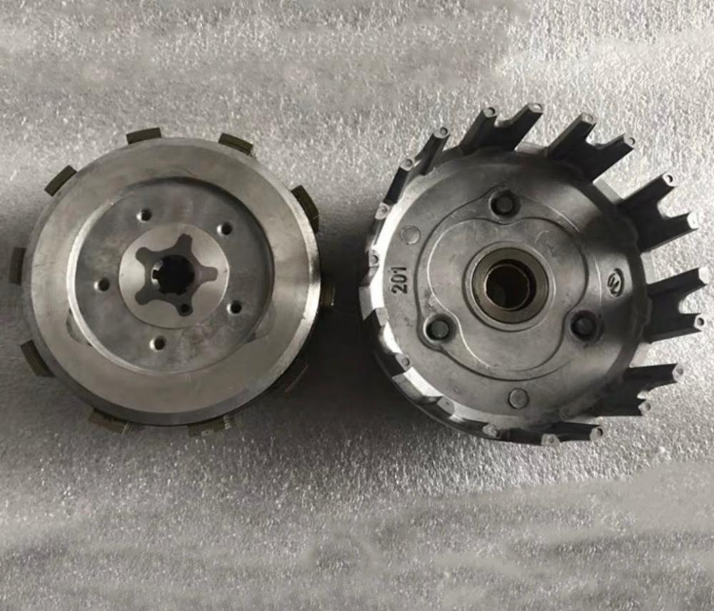 Clutch Assembly DT230 MT250 TSE250 Transmission Disc Plate Off Road Motocross Engine Parts Dt 250cc