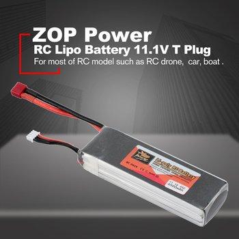 ZOP Power 14.8V/11.1V/7.4V/ 5000mAh/4500mAh/1300mAh/1500mAh/3500mAh/6000mAh 60C 4S 1P Lipo Battery XT60 Rechargeable new original rechargeable zop power 11 1v 5400mah 3s 20c lipo battery xt60 plug