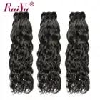 Brasilianische V Wasser Welle Bundles 3/4 Bundle Angebote Brasilianische Haarwebart Bundles RUIYU Menschliches Haar Bundles Remy Haar Extensions