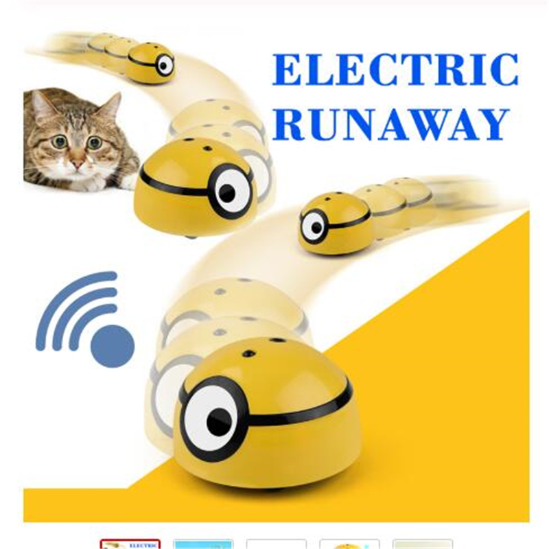 Cat and dog intelligent escape toy automatic walking interactive toy children's pet infrared sensor toy accessories pet supplies 1