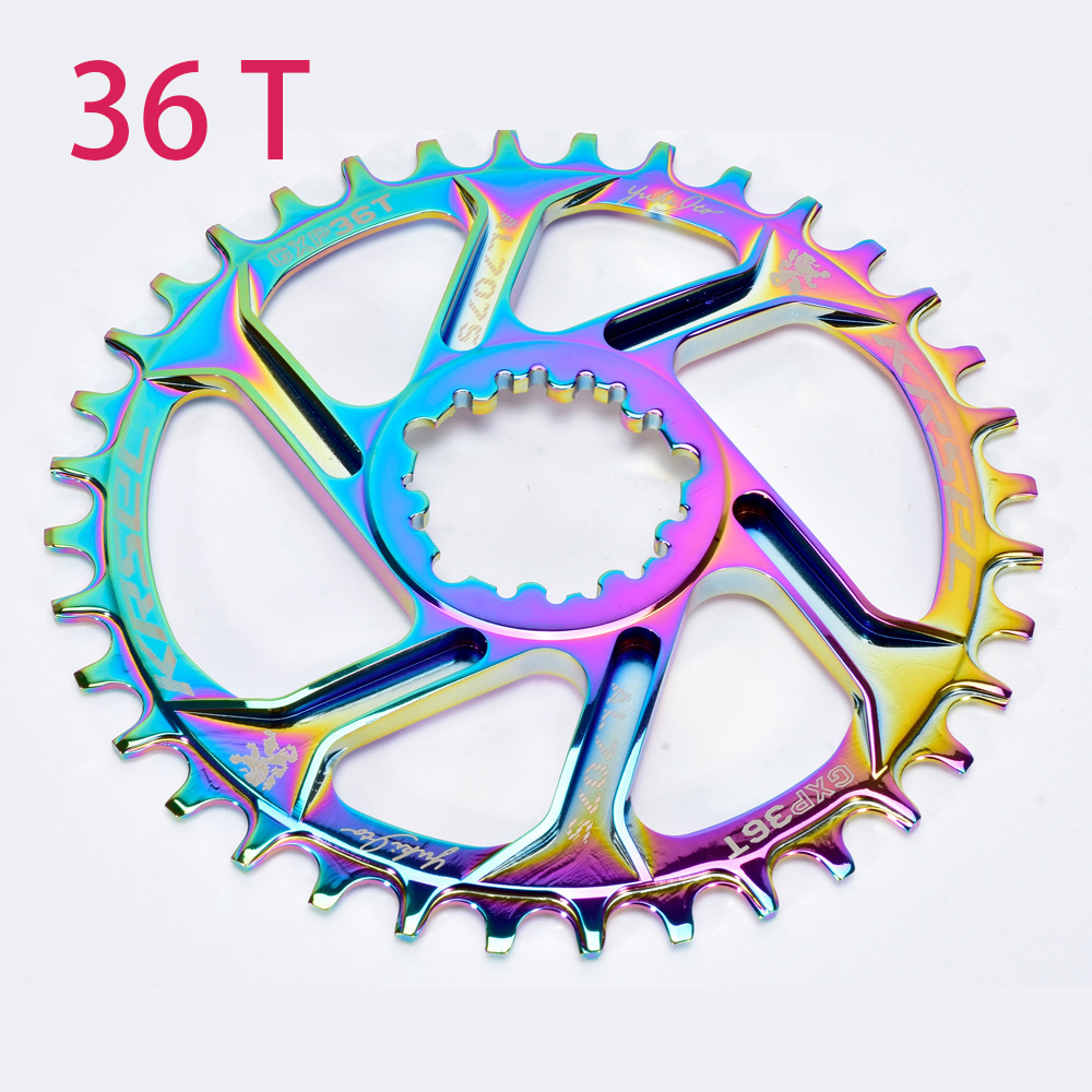 Spare Chainring Component Parts Bicycle Crankset Positive Negative Teeth