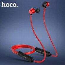Спортивные Bluetooth наушники HOCO, беспроводные наушники с микрофоном, стерео объемные басы для iphone 11 Pro X XS, huawei Xiaomi mi 10