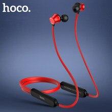 HOCO-auriculares inalámbricos deportivos con Bluetooth, dispositivo de audio estéreo con graves surround para iphone 11 Pro, X, XS, huawei, Xiaomi mi 10