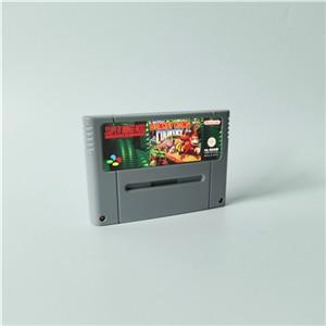Image 3 - Donkeyประเทศ 1 2 DiddyของKong Quest 3 Dixie Kongคู่ปัญหา! การแข่งขัน เกมRPGการ์ดEURรุ่นประหยัดแบตเตอรี่