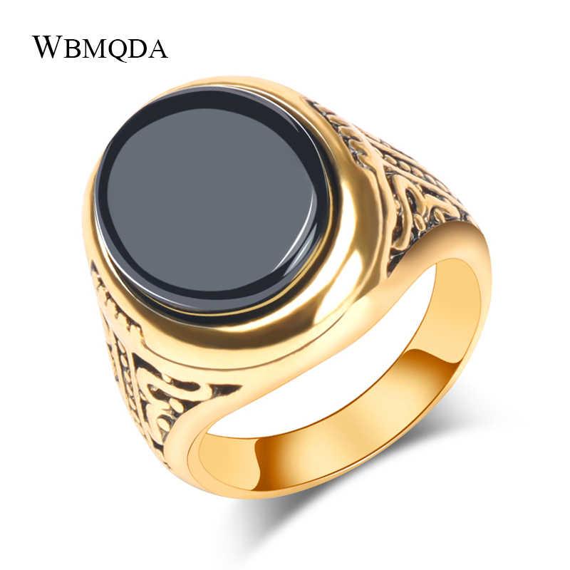 Antique gold ring man
