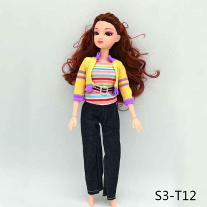 12 видов стилей новейшая кукла модное платье Милая одежда ручной работы для Барби благородная кукла девушки игрушка подарок RXJD