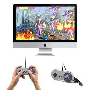 Image 3 - Controle de jogos usb para snes, joystick para computador windows, pc, mac, controle de videogame, 1 peça