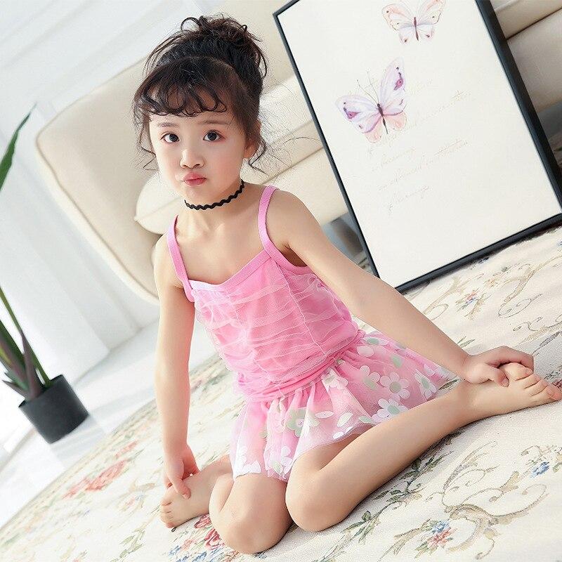 Special Offer Hot Sales CHILDREN'S Swimwear Split Korean-style Cute Girls Gauze Tour Bathing Suit Baby Hot Springs Swimwear Clot