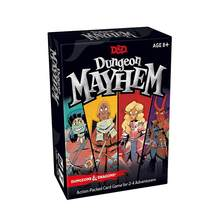 120PCS English Card Game for Dungeon Mayhemings Dragons Funny Game For Party Family 2-4 players(China)