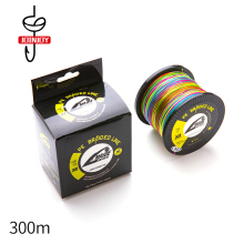 цены 4 Strands 300M PE Fishing Line Super Strong Japanese Multifilament PE Braided Fishing Line 10-80LB Long-range Fishing Gear