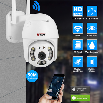 dahua h 265 ip camera ipc hfw4631f zsa built in microphone 2 7 13 5mm vf motorized lens 1080p outdoor bullet camera sd card slot 1080P Outdoor Speed Dome Wifi Camera IP 2MP H.265 Audio PTZ Wireless Camera ICloud-SD Slot Surveillance IP Camera Auto-Tracking
