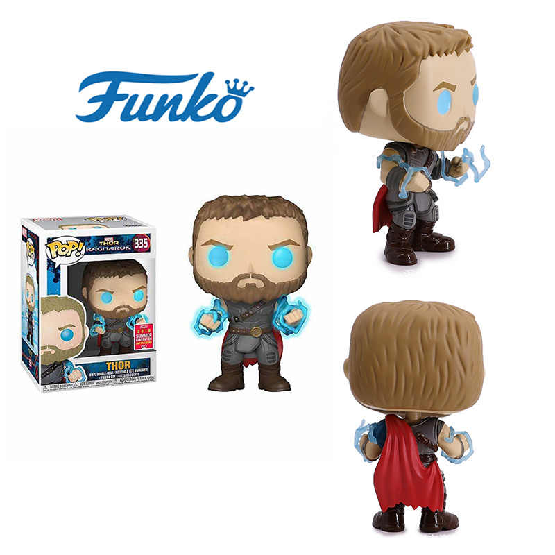 Funko POP Thor Edition Limited Marvel Avengers Original Box  anime figure  action figure Christmas gifts for children