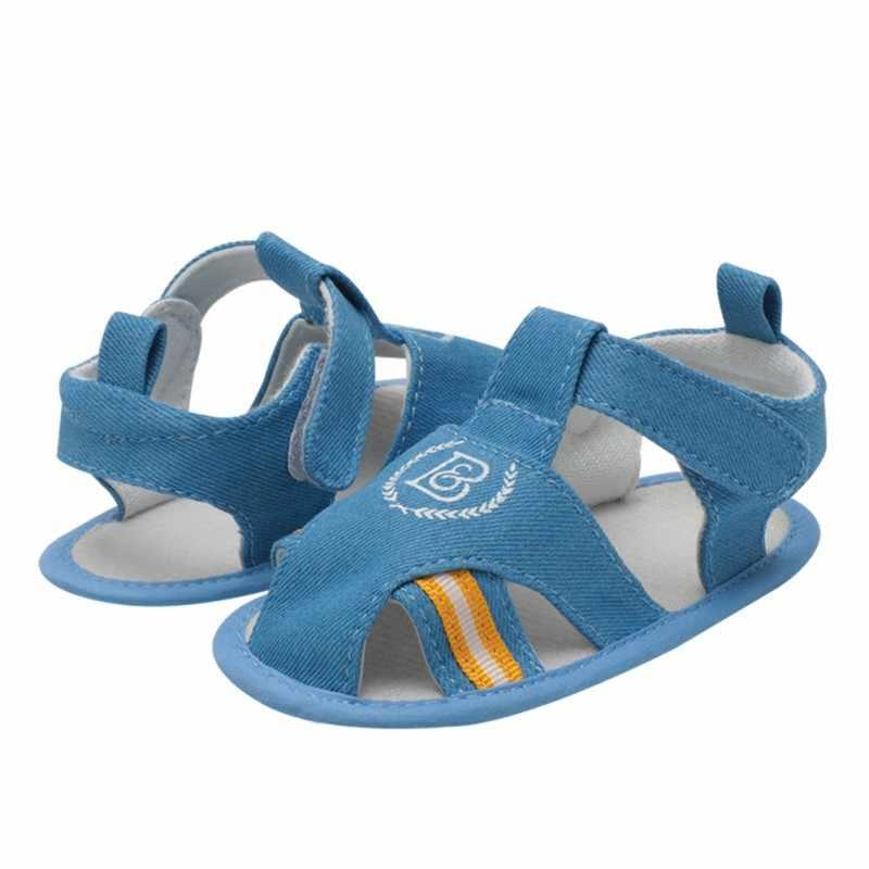 6 รูปแบบสบายๆเด็กชายหญิงรองเท้าแตะสำหรับทารกเด็ก Anti-Slip รองเท้าแตะเด็ก PU หนังนุ่มด้านล่างทารกชายหาดรองเท้า