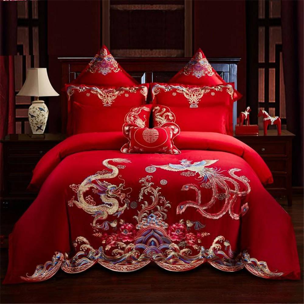 Super Soft Duvet Cover Set Bed Set For Wedding Couple Pillowcase Fashion Luxury Cotton Of Bedding Set 2019 New Design