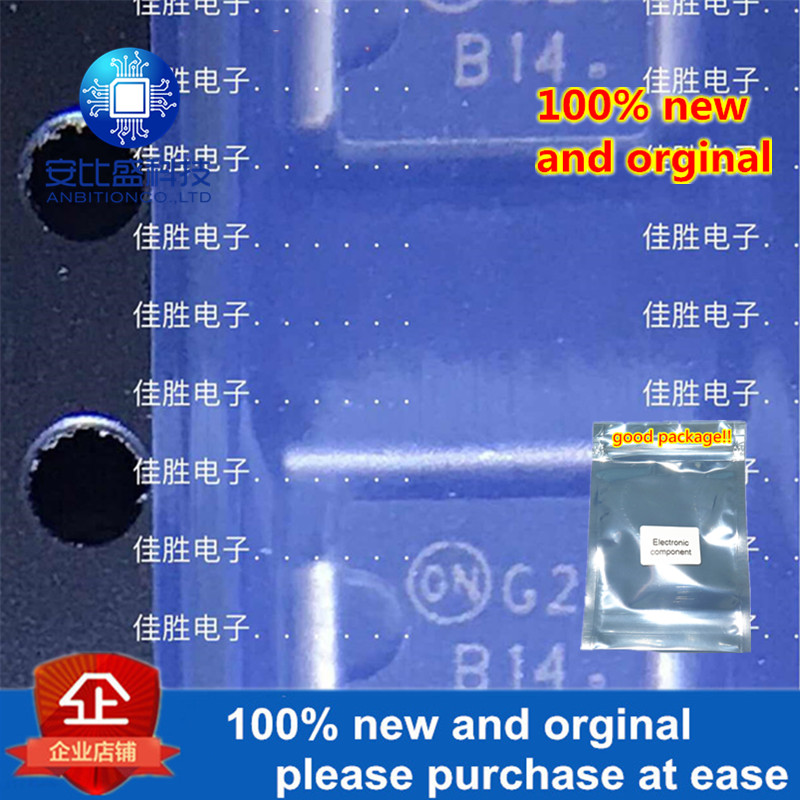50pcs 100% New And Orginal MBRS140T3G DO214AA Silk-screen B14 In Stock