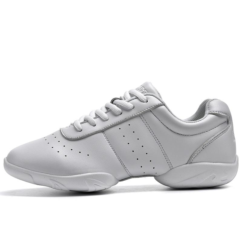 Girl/'s Sneakers Competitive Aerobics Soft Bottom Fitness Sport Jazz Modern Squar