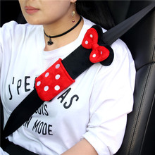 1pcs cute Cartoon Car Sefety Seat Belt cover Child isofix Seat belt Shoulder Pads Protection Plush Padding Auto Accessories 1 pair cute cartoon car sefety seat belt cover children seat belt shoulder pads protection plush padding auto accessories gifts