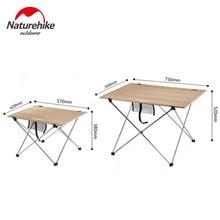 Naturehike Tragbare Faltbare Camping Tisch Im Freien Möbel Tische 6061 Aluminium Legierung Ultraleicht Klapp Picknick Schreibtisch