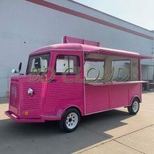 Полное оборудование пищевой грузовик для продажи/Ресторан фаст-фуда на колесах/мобильная кухня из нержавеющей стали