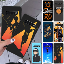 ByLoving Haikyuu Hinata attacks Anime Phone Cover For Samsung S8 S8 Plus S9 S9 Plus S10 S10 plus S10E lite S10-5G S20 UITRA plus(China)