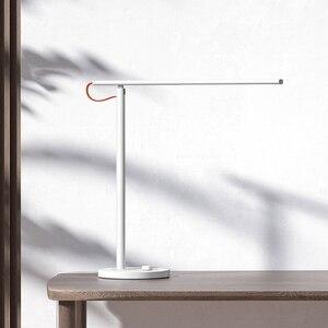 Image 4 - حار شاومي MIJIA Mi الجدول مصباح 1S LED الذكية قراءة لمبة مكتب طاولة مكتبية الطالب ضوء المحمولة أضعاف السرير ضوء الليل Wifi APP