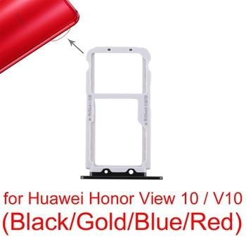 For Huawei Honor View 10 \ V10 SIM Card Tray + SIM Card Tray / Micro SD Card ipartsbuy sim card tray nm card tray for huawei p30