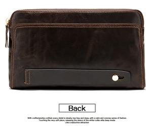 Image 5 - WESTAL portefeuille mâle en cuir véritable hommes portefeuilles pour porte carte de crédit pochette mâle sacs porte monnaie hommes en cuir véritable 9041