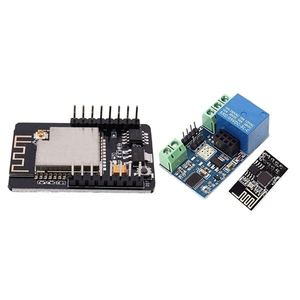 1Pcs Esp32 Serial To Wifi Esp32 Cam Development Board & 1Pcs Esp8266 Wifi 5V 1 Channel Relay Delay Module
