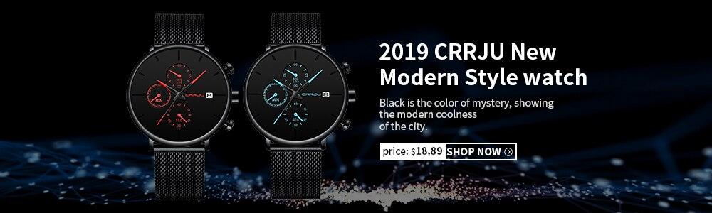 Curren masculino relógio de pulso da marca